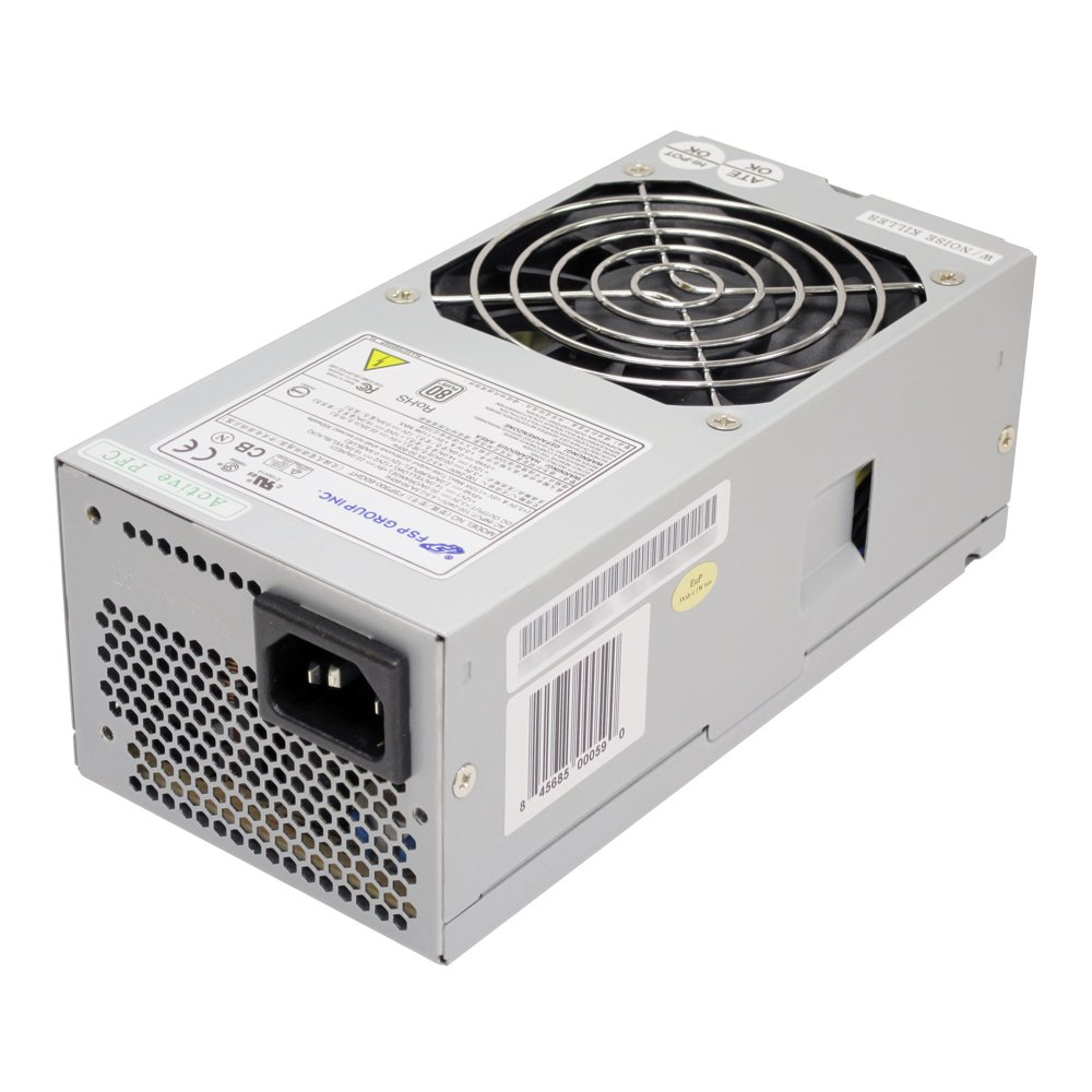 FSP 300W TFX 12V 80 PLUS Certified Active PFC Computer Power Supply ...