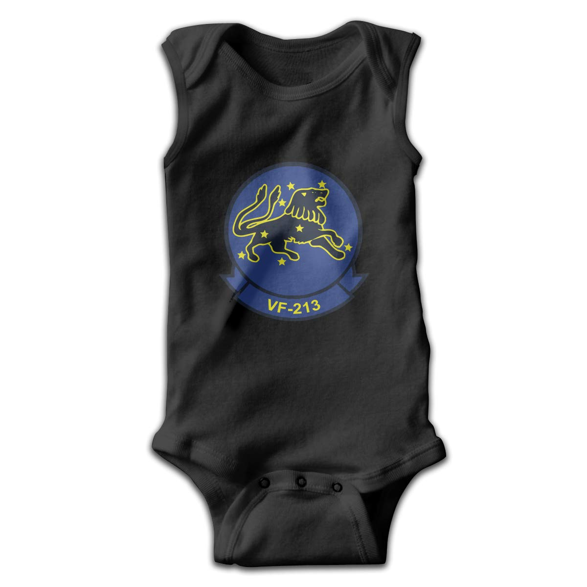 Dunpaiaa California Republic Smalls Baby Onesie,Infant Bodysuit Black
