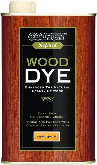 Colron - Tinte para madera (250 ml), color roble claro inglés