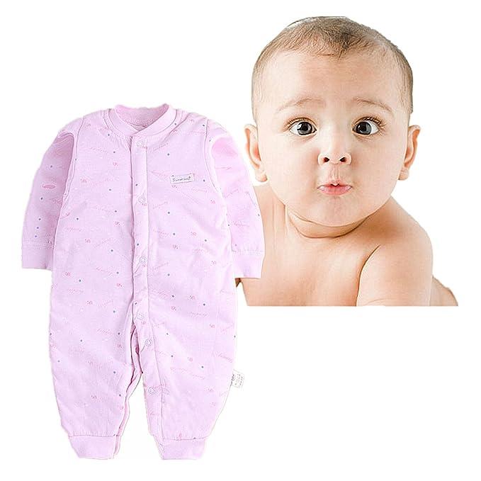 Pijamas de bebé, Chickwin Puros cálidos de algodón otoño e invierno ...
