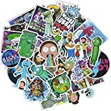 50 Pieces Vinyl Personalize Laptop Stickers, for Motorcycle, Bicycle, Skateboard, Luggage Decal Car Sticker Pack