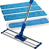 Best Shark Life Cleaning Products - Zflow 18-Inch Stainless Steel Handle Microfiber Wet Review