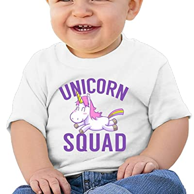 REBELN Cute Baby Unicorn Cotton Short Sleeve T Shirts for Baby Toddler Infant
