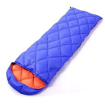 Fu Man Li Trading Company Las plumas al aire libre del adulto pato ultra- ligero abajo que acampan los bolsos de dormir gruesos de interior A+: Amazon.es: ...
