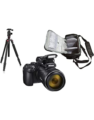 COOLPIX P1000 Camera + KamKorda Camera Bag + Advanced Tripod