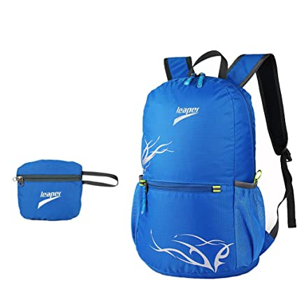 bb111c8587f7 Amazon.com : Leaper Outdoor Nylon Ultra-Light 20L Folding Backpack ...