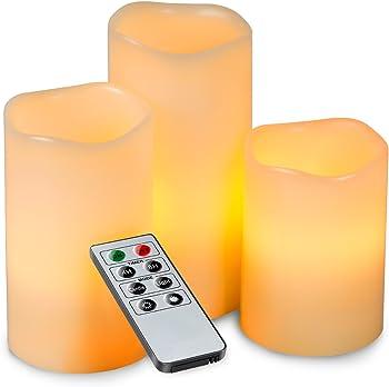 Kohree 3Pc. Melted LED Candles