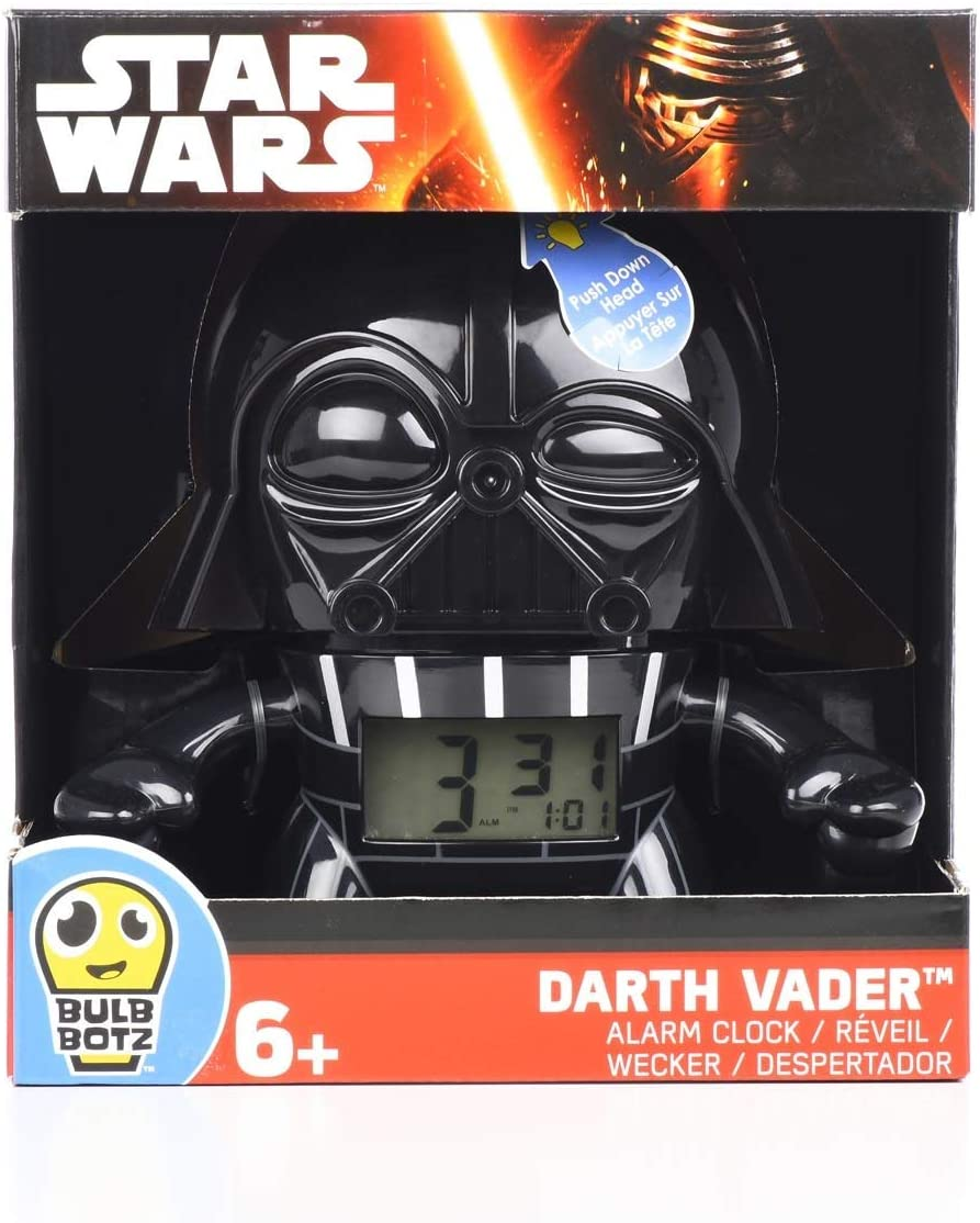 Bulb Botz Star Wars 2020008 Darth Vader Alarm Clock Darth Vader alarm clock parallel import goods