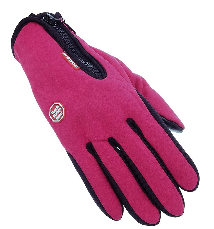 Lukis Damen Winddicht Handschuhe Sport Touchscreen Handschuhe