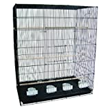 YML Large Breeding Cage, 30 X 18 X 36-Inch, Black
