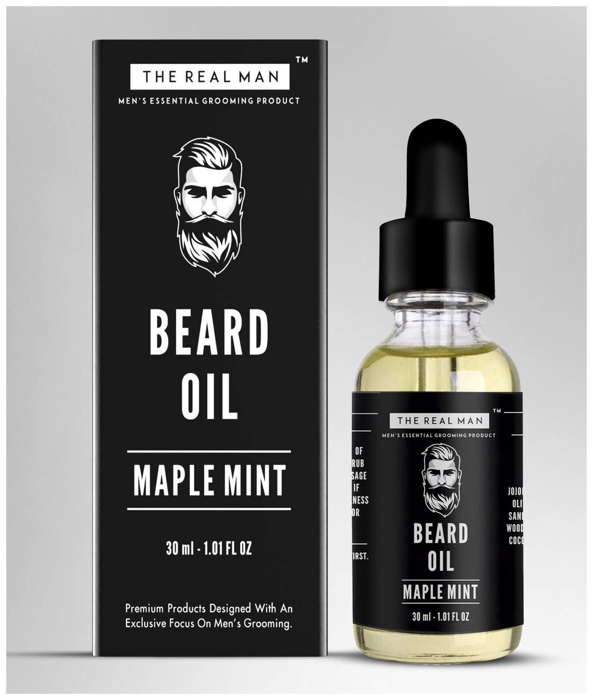 Amazon com : Beard & Mustache Oil Maple Mint for Hair Growth