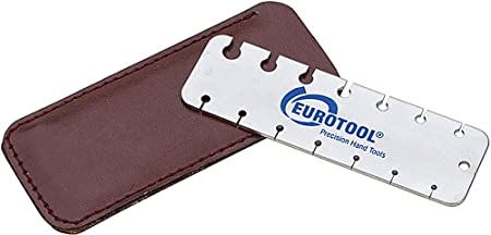 Eurotool pocket size wire gauge tool measures wire or sheet metal eurotool pocket size wire gauge tool measures wire or sheet metal greentooth Image collections