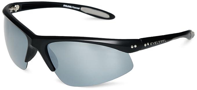 Eyelevel Crossfire 3 - Gafas de sol polarizadas para hombre, color gris, talla única
