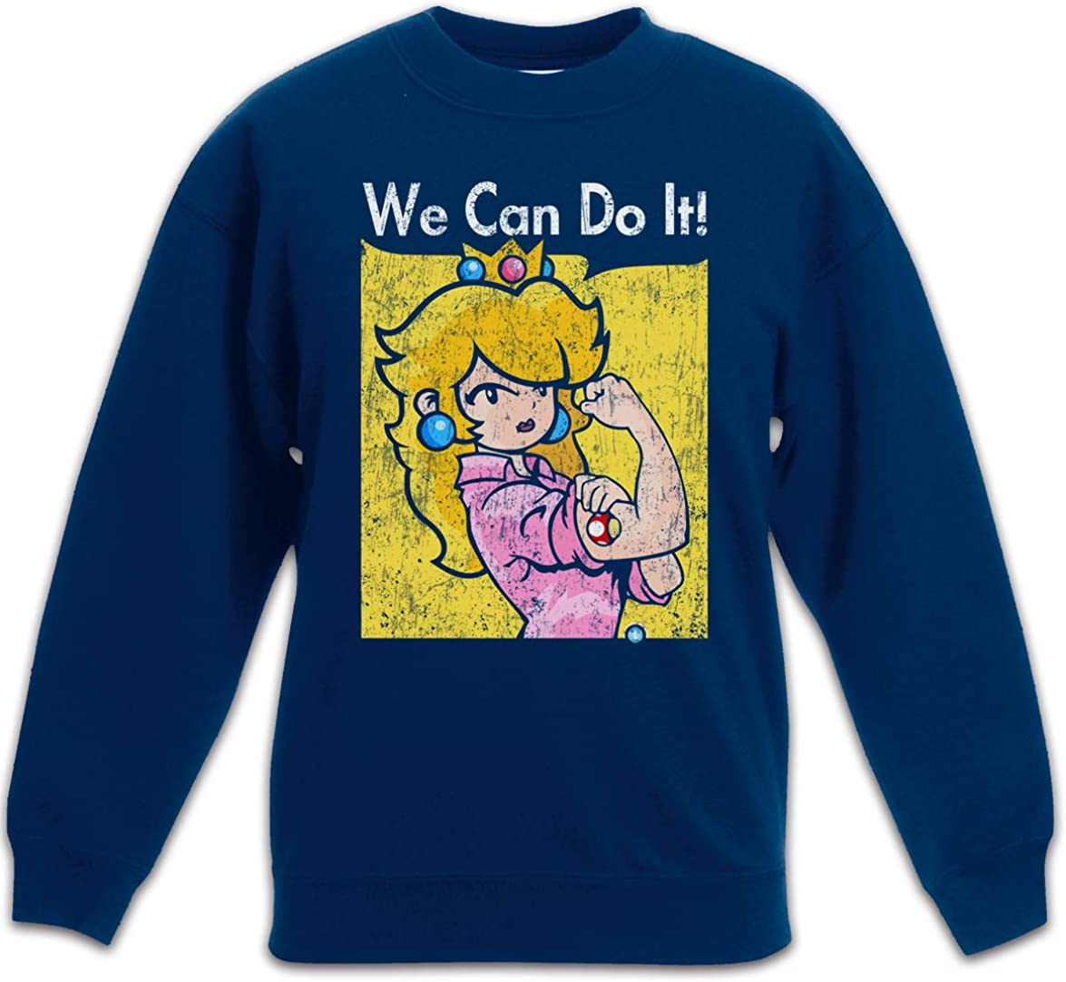 Urban Backwoods We Can Do It Princess Kids Children Boys Girls Sweatshirt Pullover
