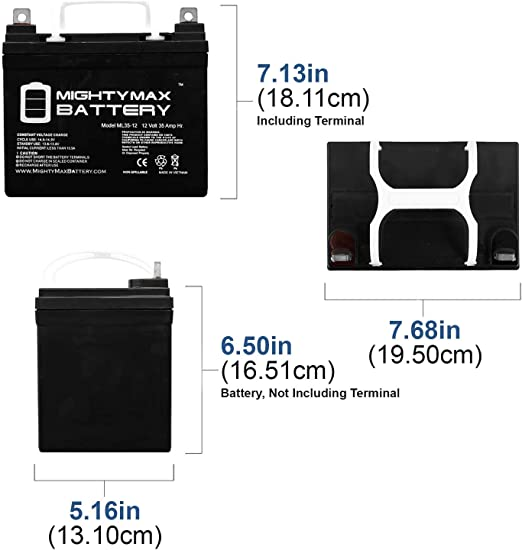 Mighty Max Battery 12V 35Ah Gel Battery Replacement for Sonnenschein A212//32G Brand Product