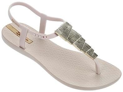 236e246bc Ipanema Women s Charm Embellished Plastic Toe Post Sandal Ivory  Aztez-Ivory-3 Size 3