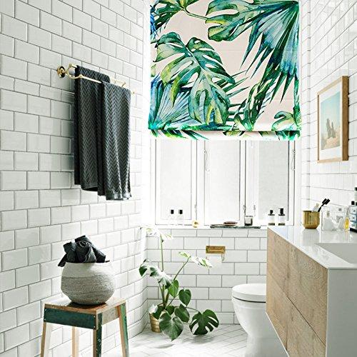 - KARUILU home Quick Fix Washable Roman Window Shades Flat Fold, Custom Any Width from 14
