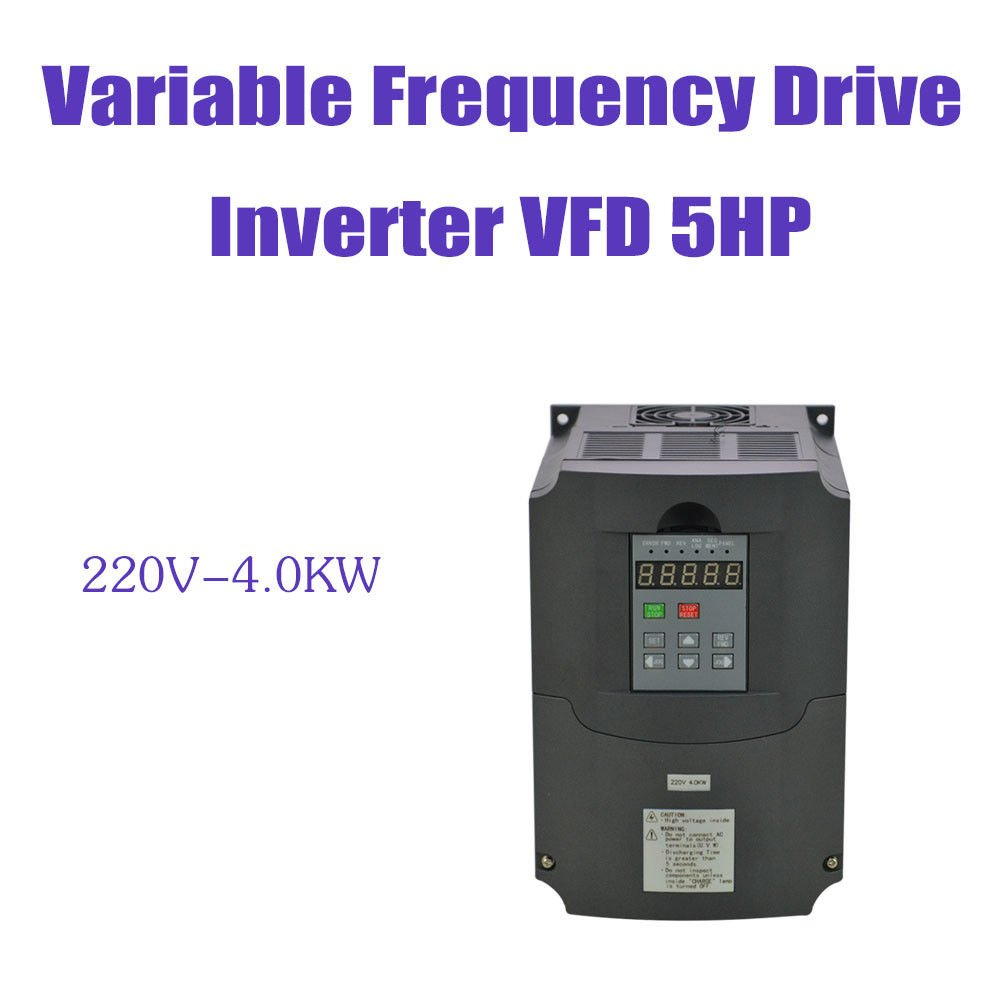 4kw 4000w 220v 18a Vfd Variable Frequency Drive Inverter 7segdriverinverterwiringdiagramjpg For Motor Speed Control Industrial Scientific