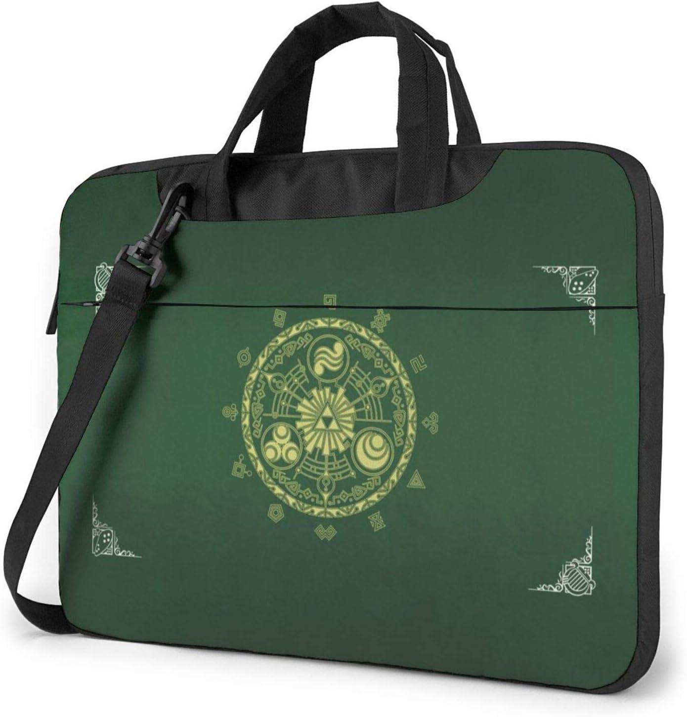 Le-Gend of Zelda Laptop Shoulder Messenger Bag Case Sleeve for 13 Inch 14 Inch Laptop Case Laptop Briefcase 15.6 Inch for Business Casual or School Case for MacBook AIR PRO