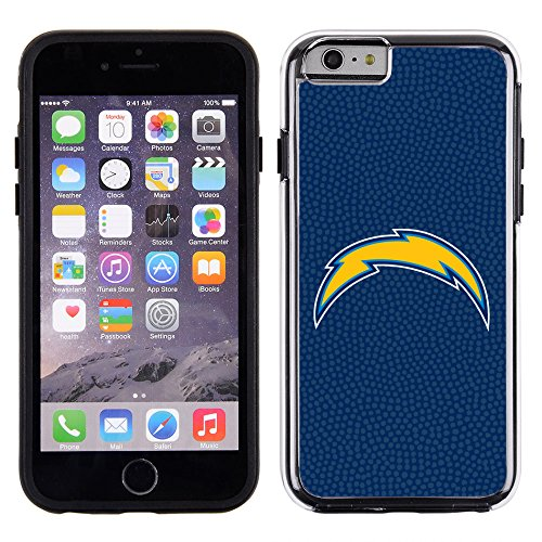 San Diego Chargers Display - NFL San Diego Chargers Football Pebble Grain Feel No Wordmark iPhone 6 Case, Team Color