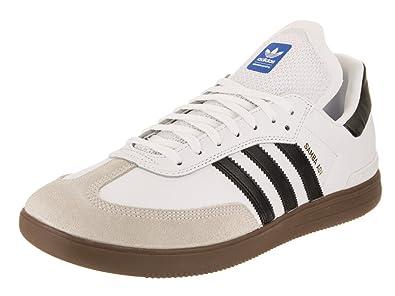 a3bd5bdc61756 adidas Skateboarding Men s Samba ADV Footwear White Core Black Gum 5 9.5 ...
