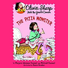 The Pizza Monster Audiobook by Marjorie Weinman Sharmat, Mitchell Sharmat Narrated by Emily Eiden
