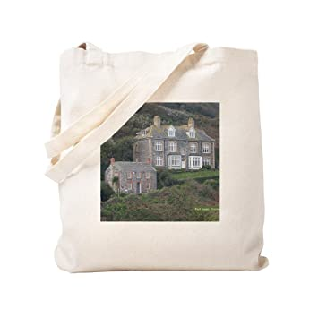 cd5a56f4c5 Amazon.com  CafePress - Port Isaac 1 - Natural Canvas Tote Bag ...