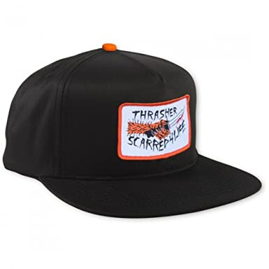 GORRA THRASHER CAP SCARRED BLACK