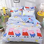 Anjos Simple Brief Polyester Microfiber 3/4pc Duvet Cover Set Bedsheet Pillowcases