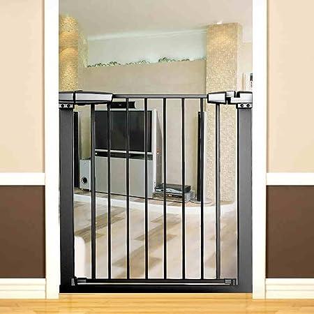 YHDD Puerta de Seguridad para bebés Puerta de Aislamiento para niños balcón protección para Mascotas Cerca de escaleras protección de protección Fija Puerta de protección (Tamaño : 76-83cm): Amazon.es: Hogar