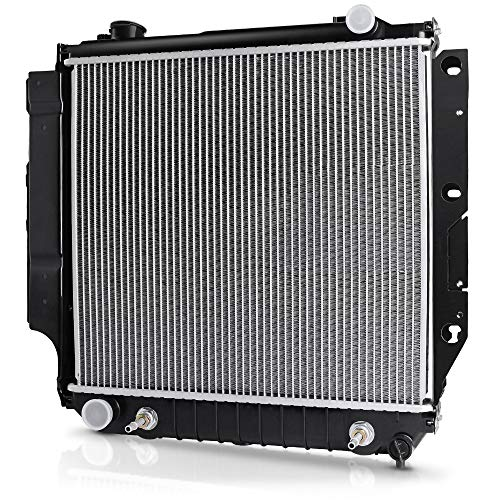 Complete Radiator for Jeep TJ, for Jeep Wrangler 2.4L 2.5L 4.0L 4.2L V4 V6 DWRD1010 (1994 Jeep Wrangler Radiator)