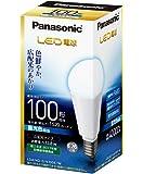 パナソニック LED電球 口金直径26mm 電球100W形相当 昼光色相当(13.8W) 一般電球・広配光タイプ 密閉形器具対応 LDA14DGK100EW