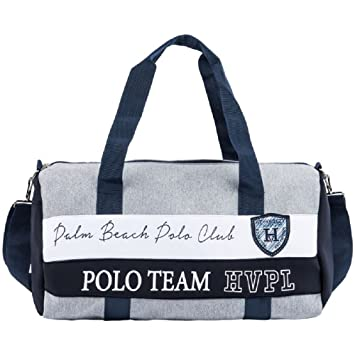 91bbafa079 HV Polo Sports Bag Nordic Detail in Contrasting Colour Prints and Logo  Summer 2017