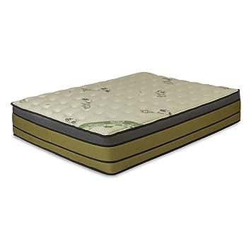 El Almacen del Colchon - Colchón viscoelastico Modelo Olive, 200 x 200 x 32cm, Máxima Adaptabilidad - Todas Las Medidas, Verde y Negro: Amazon.es: Hogar