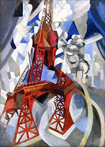 (Robert Delaunay Eiffel Tower ~ The Red Tower Solomon R. Guggenheim Museum 30