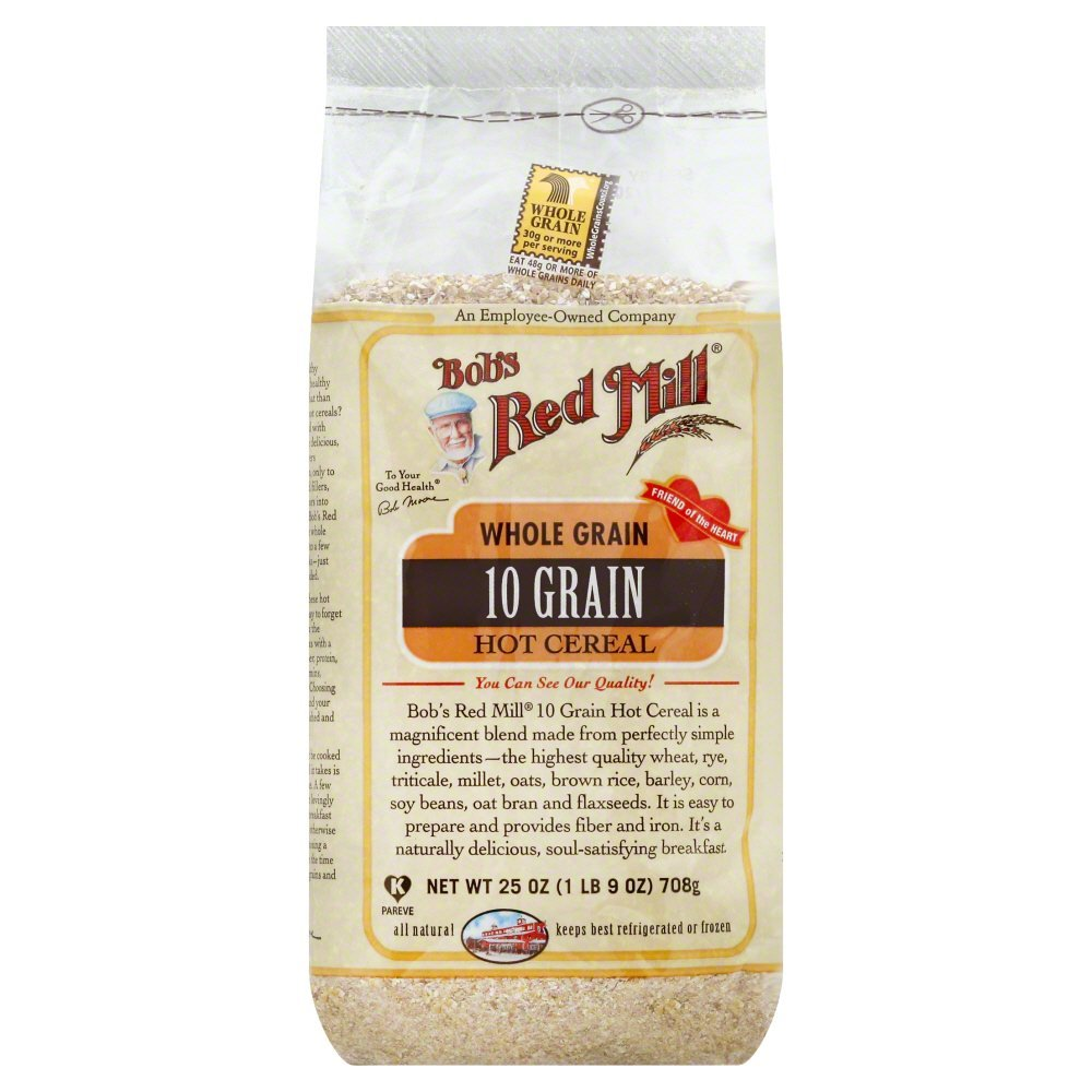 Bobs Red Mill Cereal 10-Grain 25.0 OZ(Pack of 6)