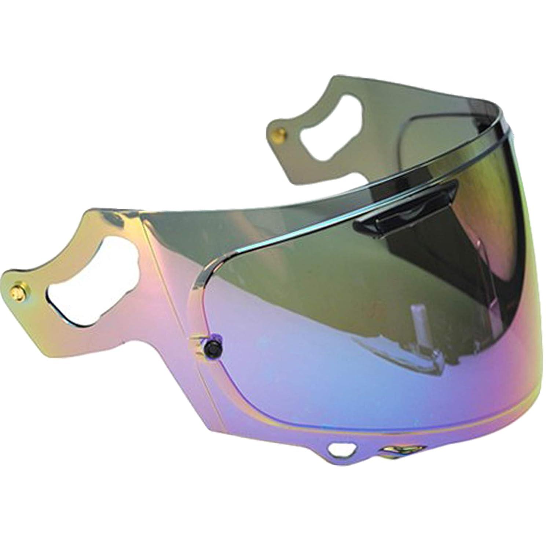 RX-7x Arai Rx7v Helmet Visor RX-7v Iridium Rainbow Quantum-X Corsair-X Signet-X Vas-V Max Vision Transparent Dark Smoke Silver Chrome Aftermarket Pinlock Ready Chaser-X