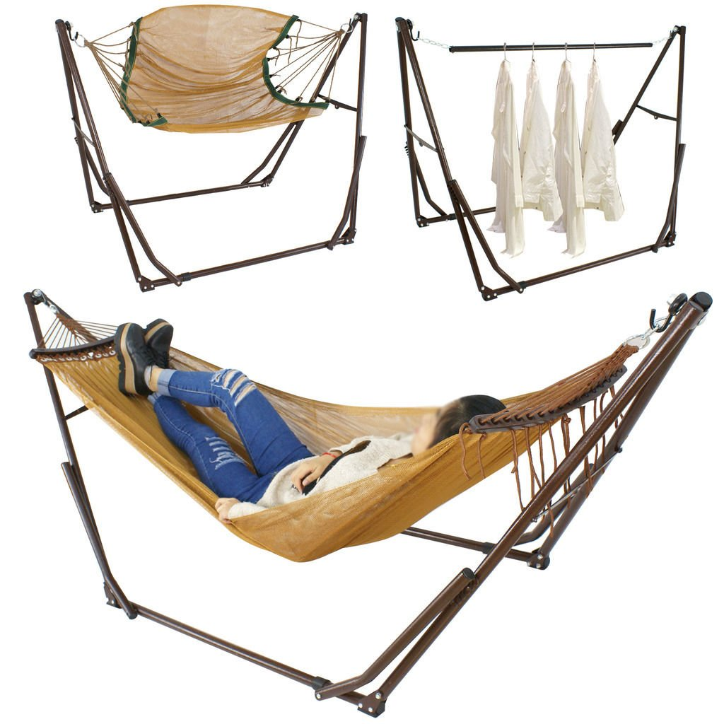 diy stand your folding design foldable hammock save budget can