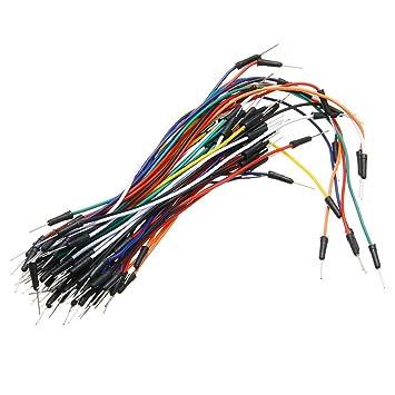 Juego de 65 cables de acoplamiento para paneles de pan, 12 cm, 16 cm