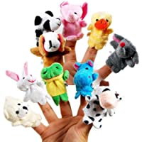 Vijaya Impex Animal Finger Puppet (Pack of 10)