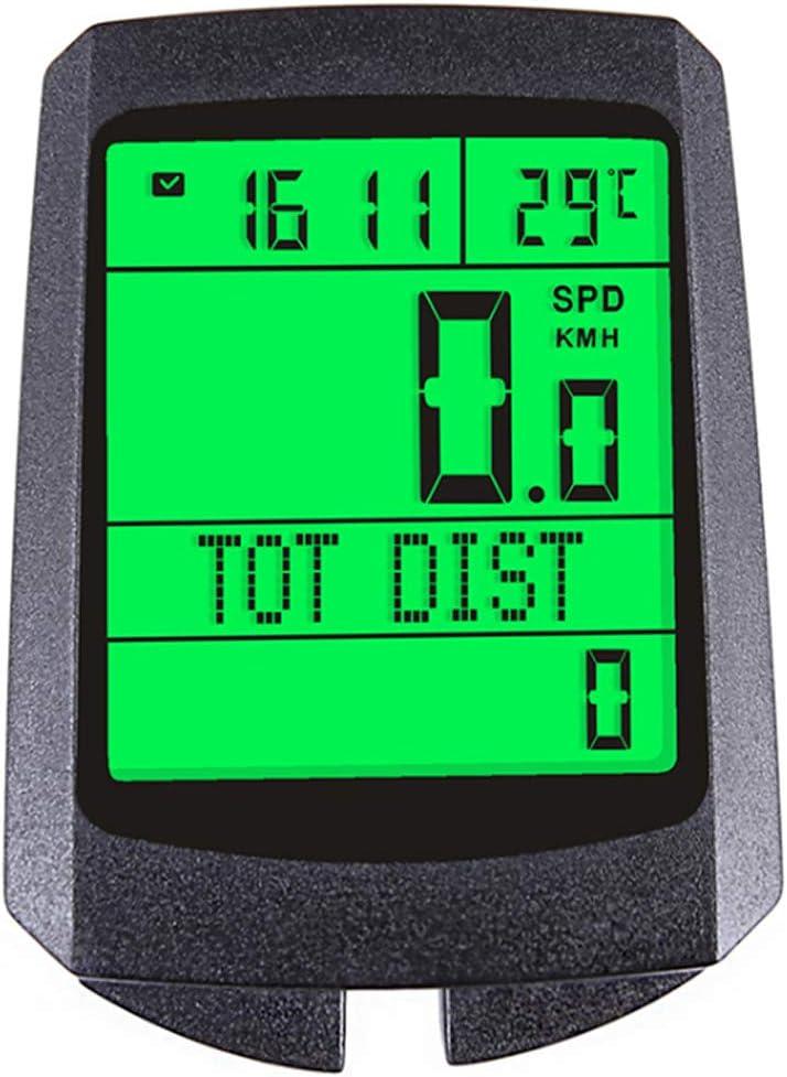 Zwq Wireless Waterproof Bike Speedometer