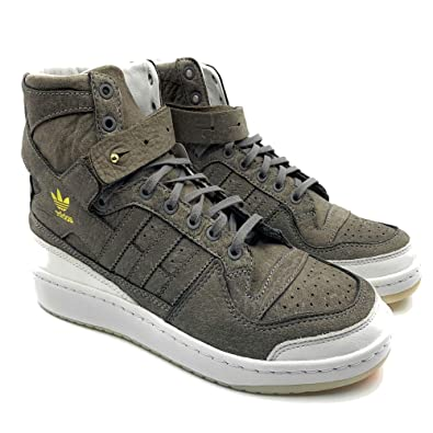 new style d181e 0cc97 Image Unavailable. Image not available for. Color: adidas Originals Mens  Forum HI Crafted Shoes Cleaning Kit BW1253 ...