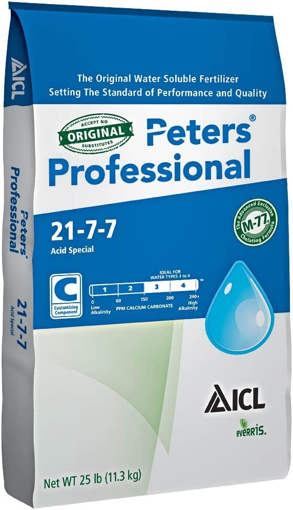 Peters Professional Acid Special 21-7-7 - 25 Pounds