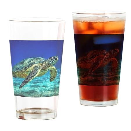 93b23ce19bf CafePress - Sea Turtle - Pint Glass, 16 oz. Drinking Glass: Amazon ...