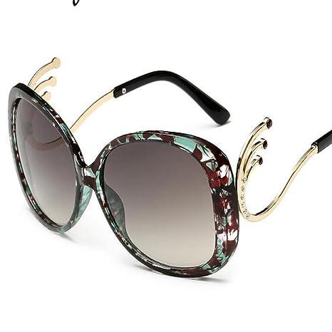 XXFFH Gafas De Sol Tendencia Mujer Gafas De Sol Rana Grande ...