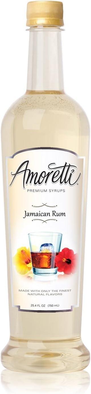 Amoretti Jarabe Premium, Ron jamaicano, onza 25,4