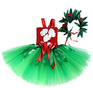 JJAIR Falda Hawaiana para niñas, en Capas de Encaje de Tul Duende ...