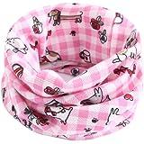 ★ Bufanda para el Cuello para bebé, Niñas pequeñas Niños Patrón de Animales Costura de la Junta tórica Bufanda del bebé Absolute