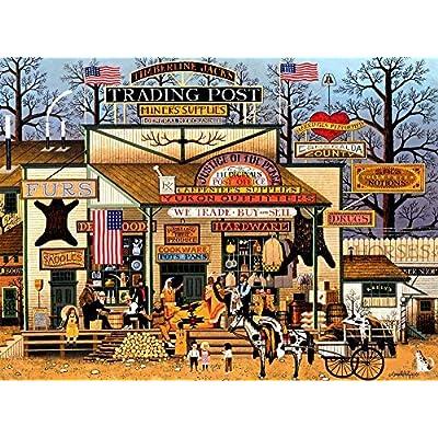 Charles Wysocki 1000 Piece Jigsaw Puzzle Timberline Jacks29.52 x 19.69 inch: Toys & Games