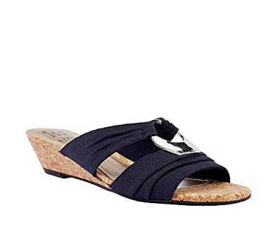 09a52fc6833a Impo ROLANA Stretch Wedge Sandal